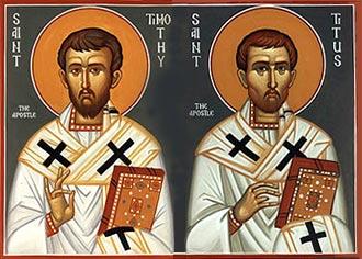 Santi Timoteo e Tito