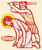 A Keresztelő vértanúsága