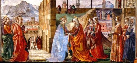 Visitation de la Vierge Marie dans images 0531-w
