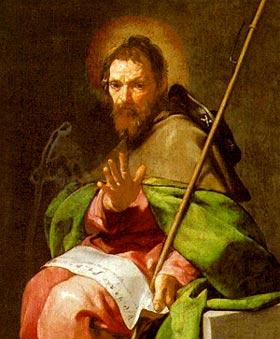 Saint Jacques Majeur  dans images sacrée 0725-w