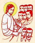 Jézus és az apostolok