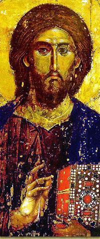 Cristo Pantocratore - Monastero di Chelandari, Monte Athos ca. 1260-70