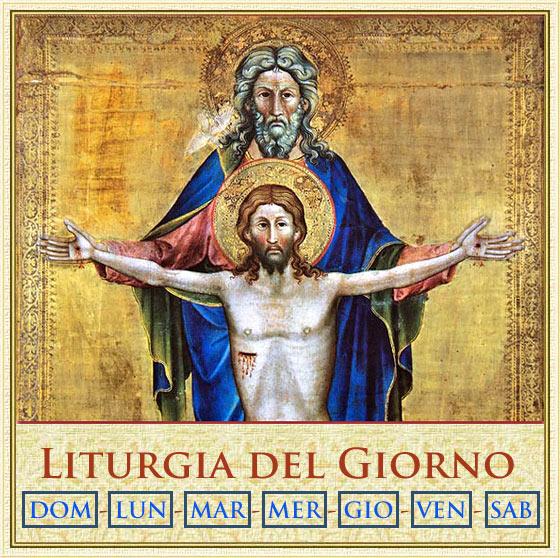 Vangelo Del Giorno Calendario Romano.Liturgia Del Giorno