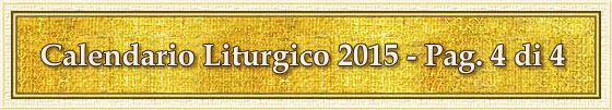 Calendario Liturgico 2015 - Pag. 4 di 4