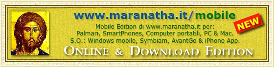 www.maranatha.it/mobile Mobile Edition