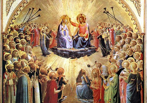 Resultado de imagem para Glorie di Maria vergine